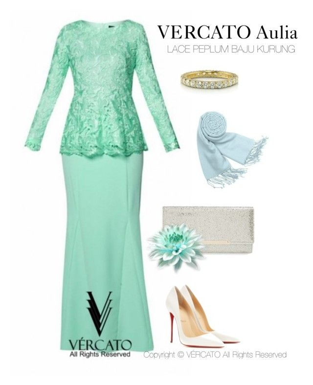 """VERCATO Aulia Baju Kurung Moden"" in mint green by Vercato, also available in Navy blue. SHOP NOW: http://www.vercato.com/VERCATO-AULIA-VMD036-LACE-PEPLUM-BAJU-KURUNG-MINT"