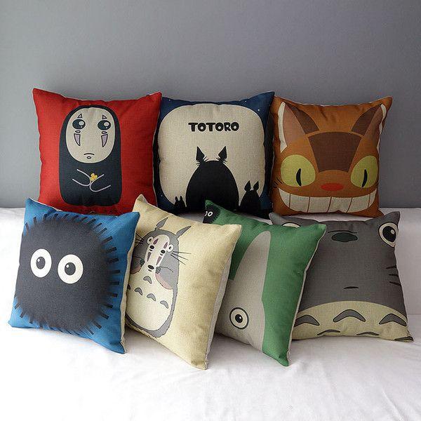 Diy Totoro Pillow Case: Více než 25 nejlepších nápadů na Pinterestu na téma Totoro pillow,