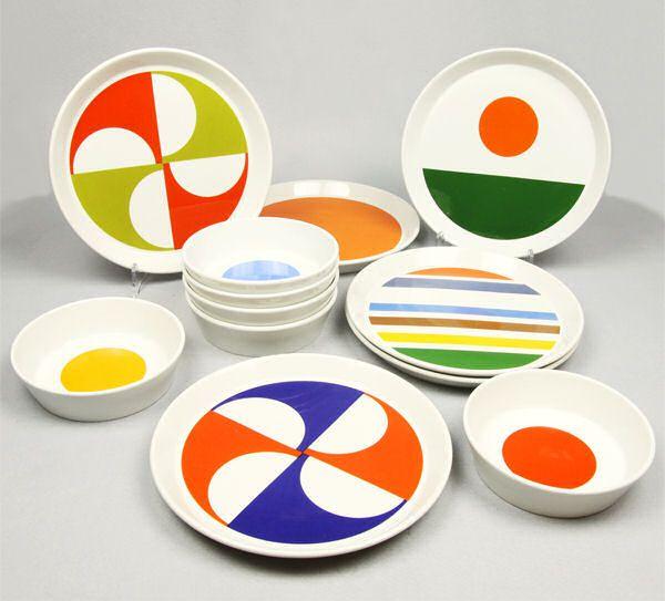Gio Ponti Lighting | Servizio di piatti disegnato per Franco Pozzi