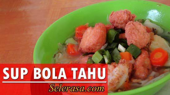 Resep dan Cara Membuat Sup Bola Tahu Kaldu Ayam