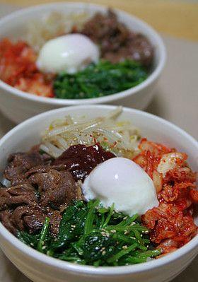 焼肉のタレで簡単ビビンバ☆韓国ごはん