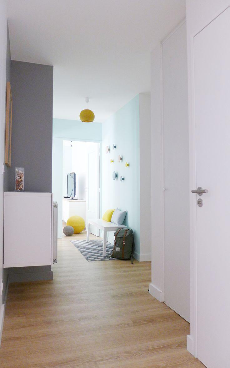 17 meilleures id es propos de hall d 39 entr e bleu sur for Decoratrice interieur montreal