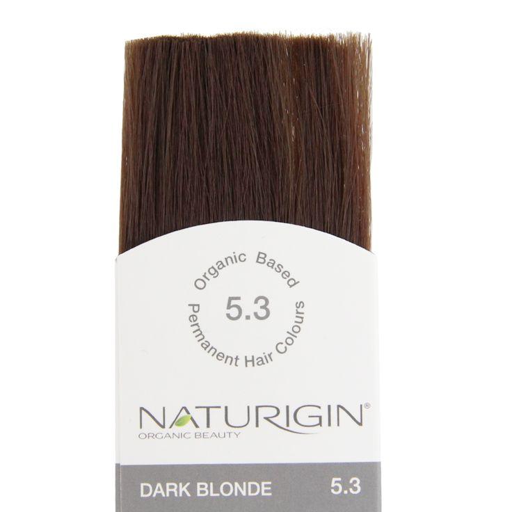 Naturigin Organik İçerikli Saç Boyası Koyu Sarı 5.3