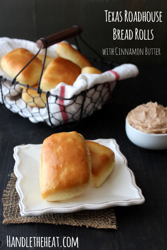 Texas Roadhouse Bread Rolls with Cinnamon Butter