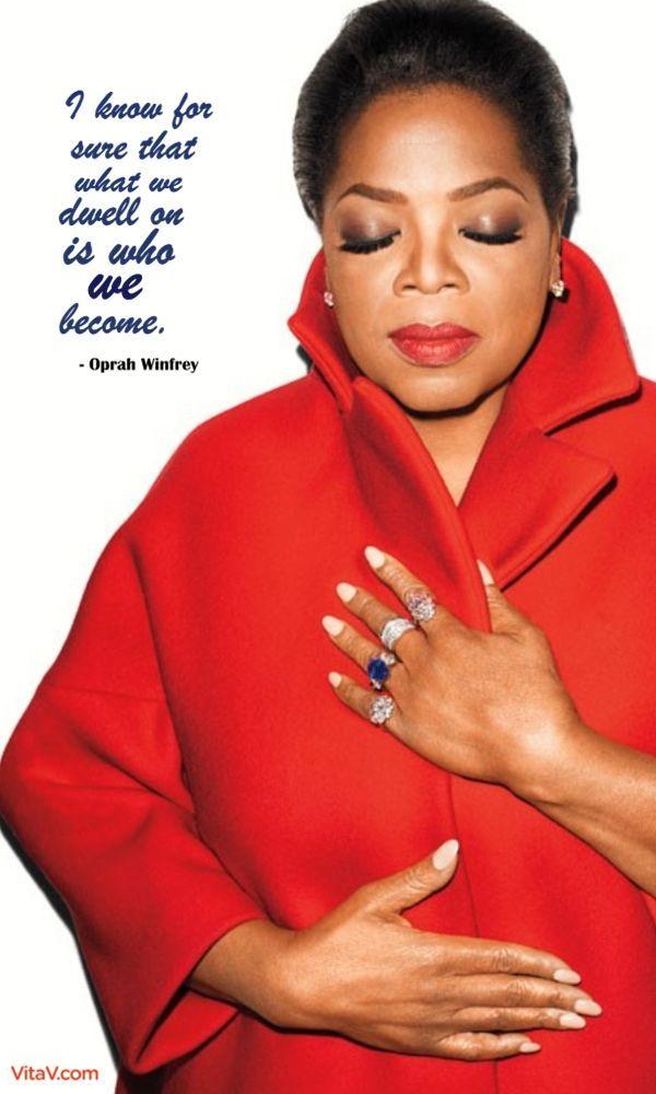oprah motivation quote
