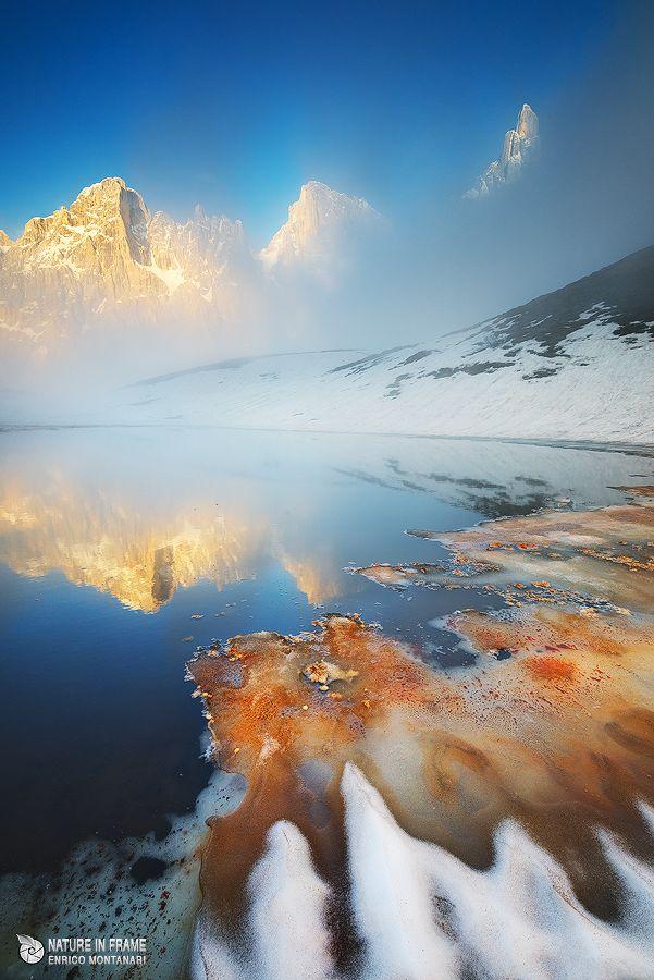 The mist - Dolomiti