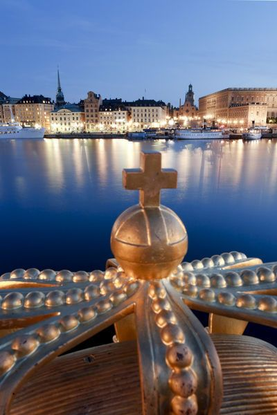 Stockholm, Sweden (Michele Falzone) by Jon Arnold Images on artflakes.com as poster or art print
