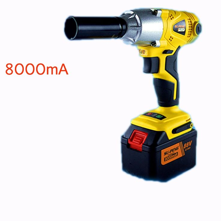 123.31$  Watch now - http://alid3i.worldwells.pw/go.php?t=32697133295 - 1/2'' Li-ion 88V 8000mA  Electric Impact Wrench car wrench scaffolders scaffolding lithium electric pneumatic drill tool wrench