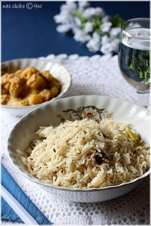 Jeera Puloa (Cumin Spiced Indian Rice).