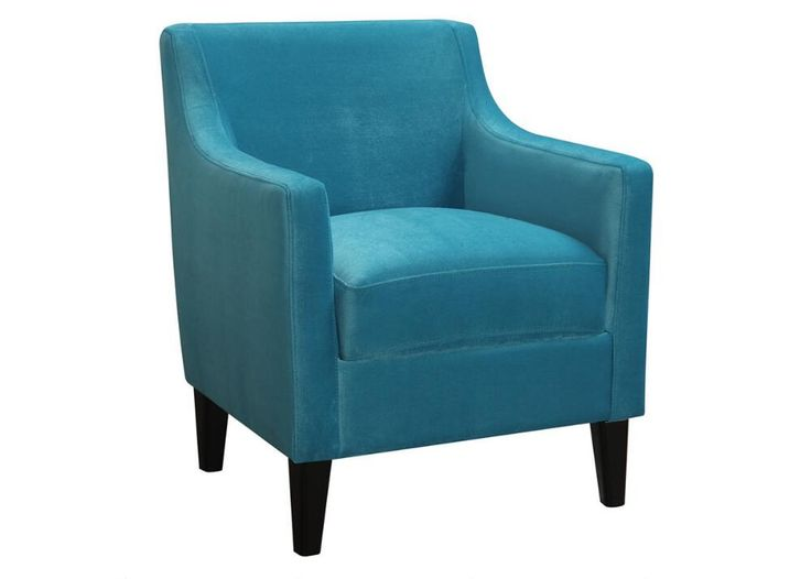 Another awesome velvet chair that would be perfect for Suzie's library.