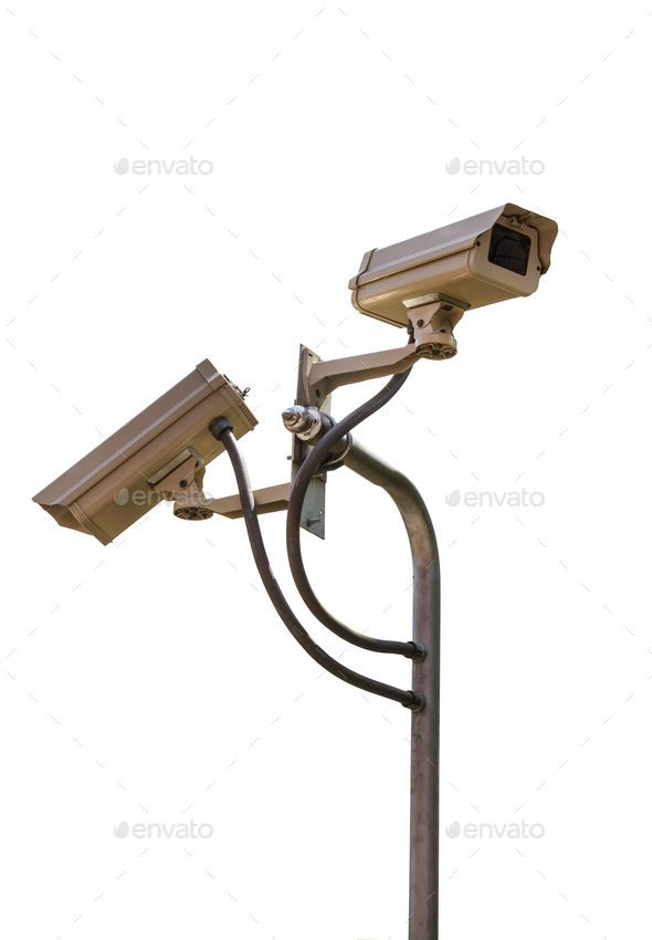 Security camera CCTV video surveillance. http://photodune.net/item/security-camera-cctv-video-surveillance/9526854