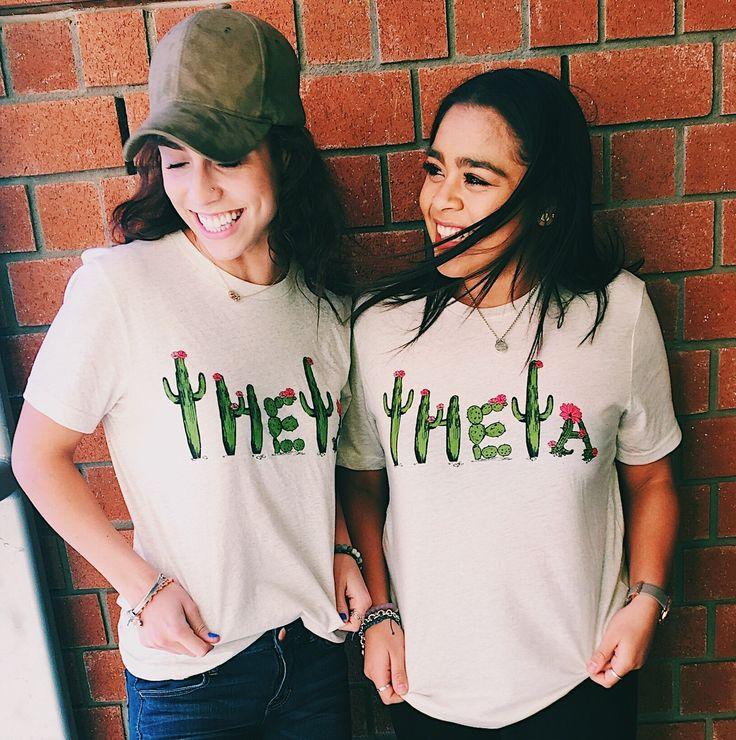 Kappa Alpha Theta | Lookin' Sharp Cactus Tees by Ali & Ariel | @aliandariel