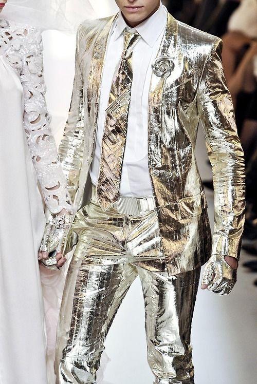 Chanel S/S Haute Couture 2010 Menswear