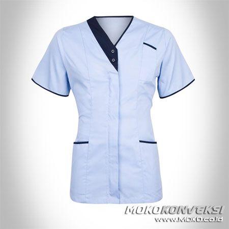 SERAGAM PERAWAT, MEDIS & PAKAIAN RUMAH SAKIT. Model Baju Dinas Perawat. Moko Konveksi - Supplier Baju Tangan Pertama.