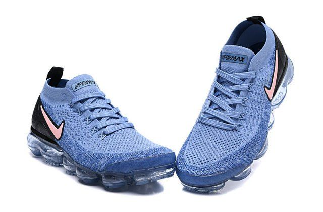 8ea138852392b Nike Air Vapormax Flyknit 2 Gym Blue Men s Running Shoes 942842-401 ...