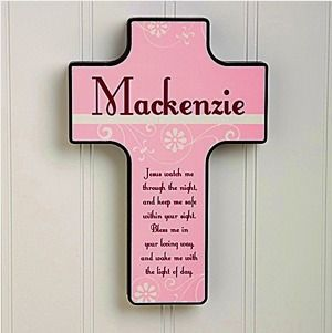 Baby personalized gifts 64 pinterest keep me safe personalized wall cross negle Choice Image