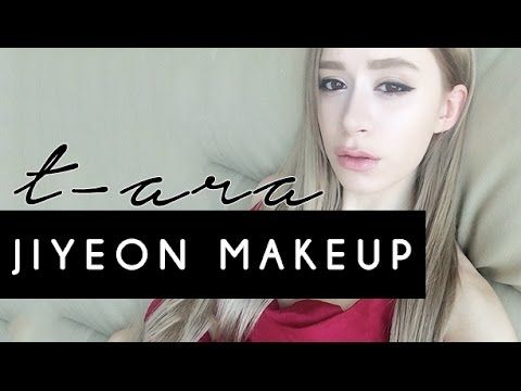T ARA JIYEON MAKEUP TUTORIAL | Kpop Makeup - YouTube
