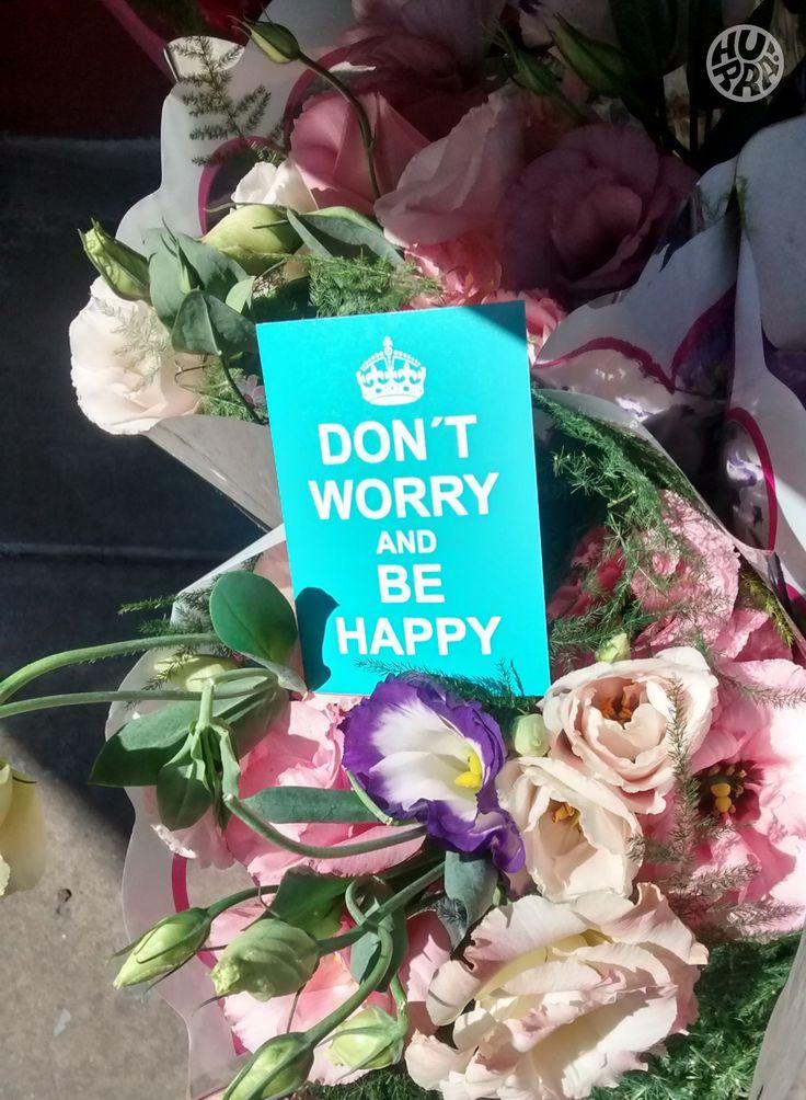Don´t worry and Be Happy! Venta por menor y mayor. f/hurratallercreativo // holahurra@gmail.com