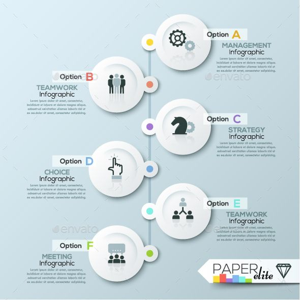 Modern Infographic Process Template PSD, Vector EPS, AI Illustrator. Download here: https://graphicriver.net/item/modern-infographic-process-template/17130992?ref=ksioks