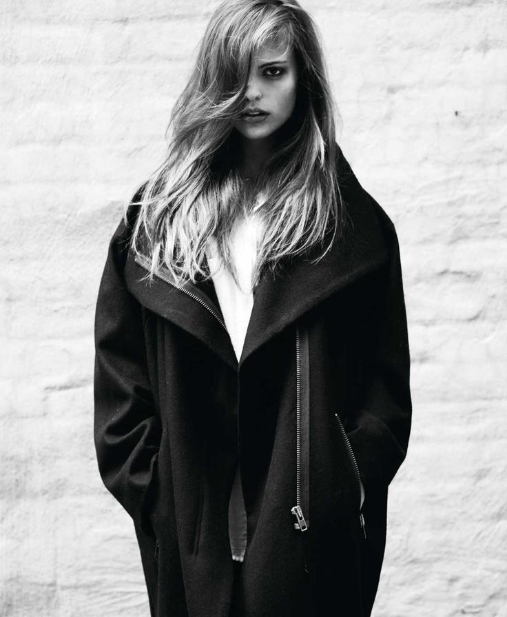 Rützou wool coat AW12   Cover Magazine November