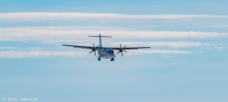 ATR 72-500 Oulun taivaalla | by arto häkkilä