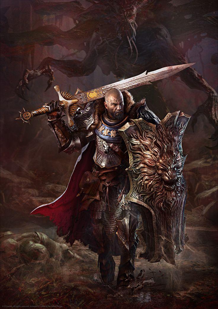 ArtStation - Harkyn the Slayer, Gregory Pedzinski