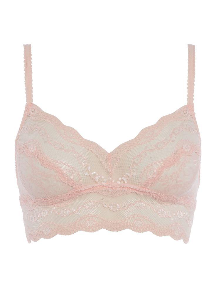 b.tempt'd Lace Kiss Bralette, Rose