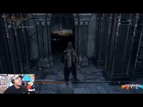 Bloodborne - Micolash, Host of the Nightmare Boss #10 1080p 60fps