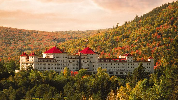 Luxury resort hotel in the New Hampshire mountains!
