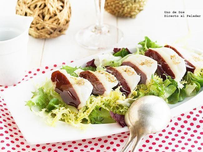 Menú Directo al Paladar - Ensalada de pato y mozarella