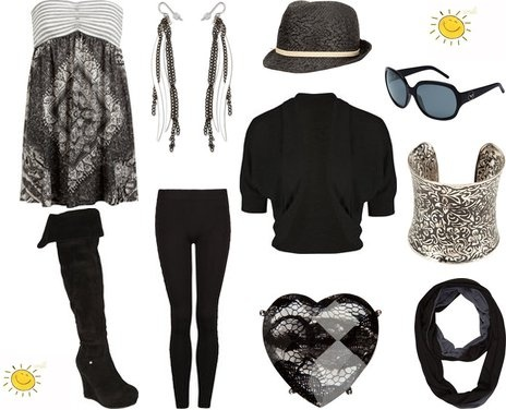 Cute Winter Outfits in Trendy Gothic Style | My Vogue Trendy, Cute Outfits, Women Fall 2010 Clothing Reviews