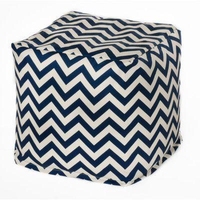 Chevron Bean Bag Chair Upholstery: Navy - http://delanico.com/bean-bag-chairs/chevron-bean-bag-chair-upholstery-navy-640762517/