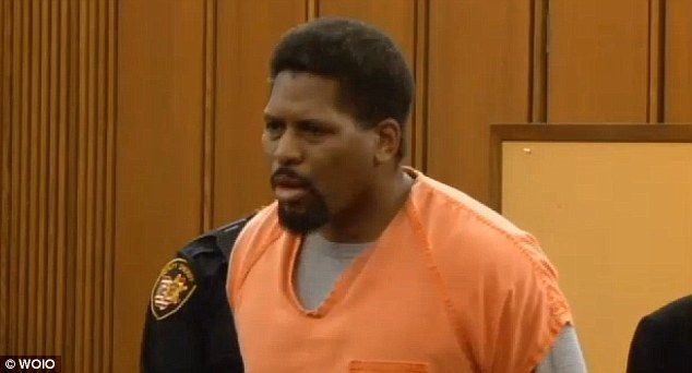 Sentenced: Former Cleveland police officer Charles Locke was sentenced to 19-and-a-half years behind bars