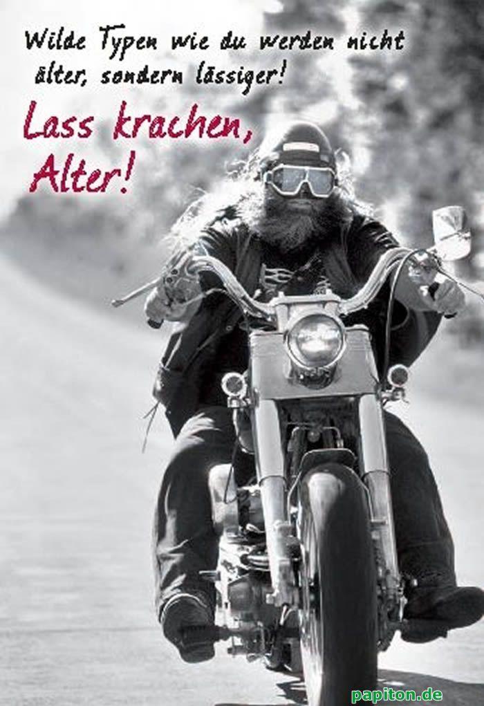 Biker Spruche Lustig Gedichte Zum Geburtstag Biker 2020 04 05