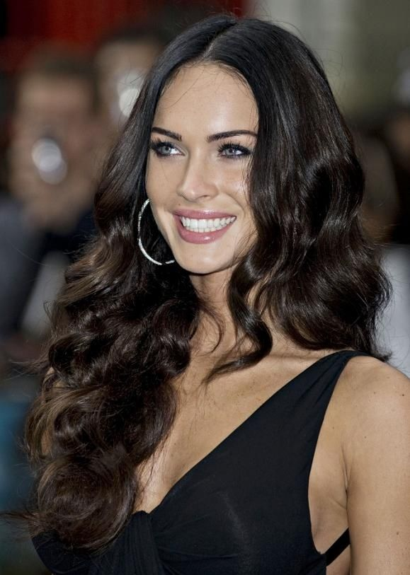 Megan Fox Layered Long Hairstyles
