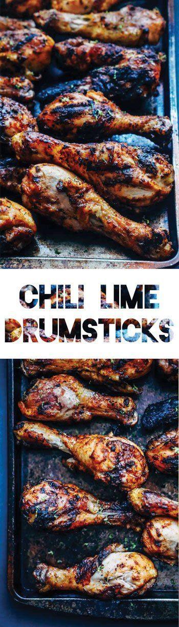 Chili Lime Chicken Drumsticks [Recipe]