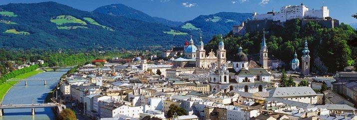 A beautiful shot of Salzburg