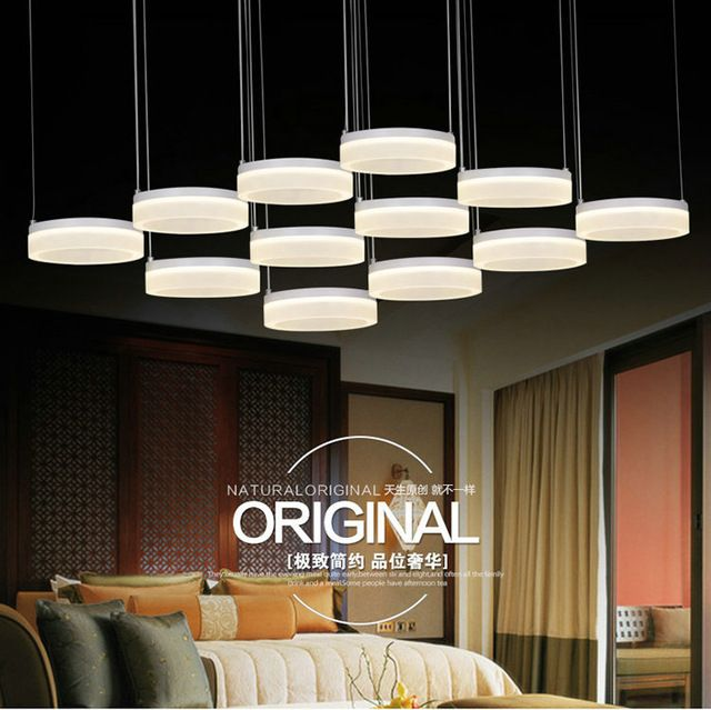 Современные СВЕТОДИОДНЫЕ подвесные светильники для столовая подвесные светильники гостиная подвесные светильники Романтический украшения дома подвесные светильники