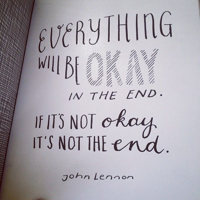 Everything Will Be Okay Quotes Daily Inspiration Quotes