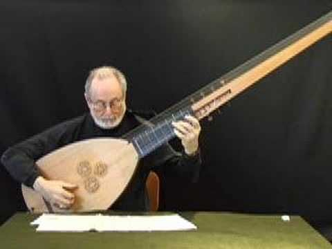 1640 Baroque stile song by J.H. Kapsberger Solo played by Nelson Amos. RESEARCH DdO:) - https://www.pinterest.com/DianaDeeOsborne/music-strings-of-history/ - MUSIC STRINGS OF HISTORY. This guitar ancestor Theorbo = plucked string instrument of lute family. Extended neck gives long bass strings; second pegbox. Created late 16th century in Italy, inspired by demand for extended bass range instruments to use in opera. Pinned via CharlotteKnightwalkers.