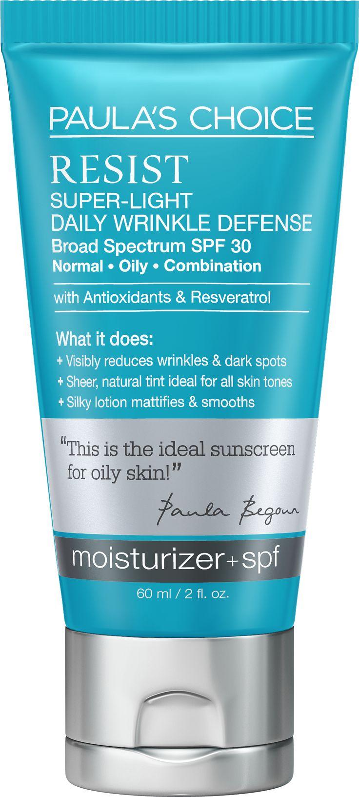 RESIST Super-Light Daily Wrinkle Defense SPF 30 60 ml Paula's Choice