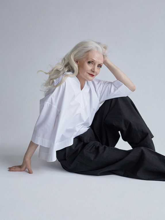 62-year-old Valentina was reluctant about becoming a model at first