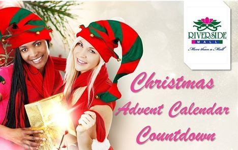 BREAKING NEWS! Our Christmas Gifts to you....................  Visit our Advent Calendar Countdown every day for inspiration and Christmas gift ideas. Take a 'Selfie' with our resident 'Elfie', post it on the Riverside Mall Facebook page and stand the chance to win every day. Check out our stunning calendar but remember the new gift will only be revealed on the day............ https://www.facebook.com/pages/Riverside-Mall/291808665726?sk=app_977224378959855