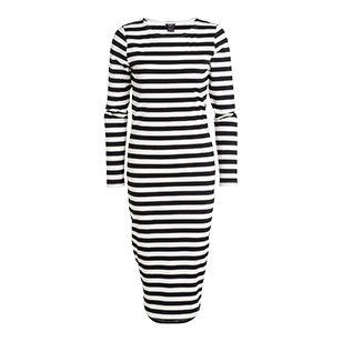 Stripete kjole - Lindex