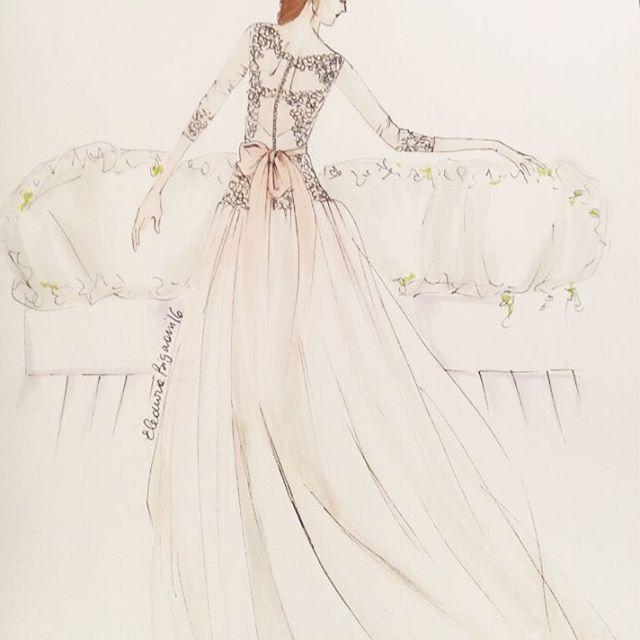 Le Spose di Gio #bridal #lesposedigio #fashionillustration
