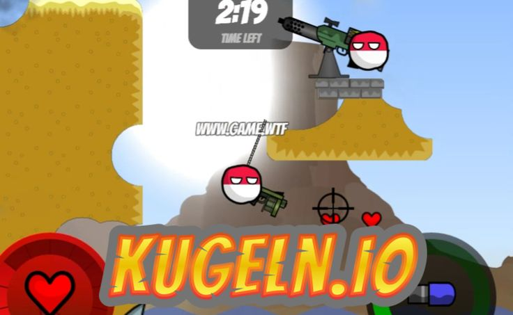 Play Kugeln.io in full screen! Kugeln.io is a really fun .io shooter because you can hook and destroy parts of the map! Kill other players without getting ki...