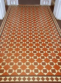 Geometric Floor Tile Design 1890 S 1920 Design Elements