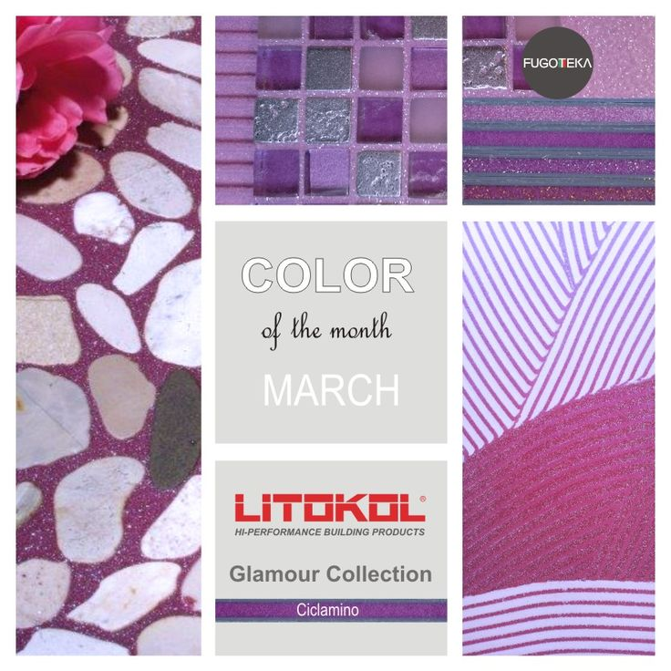 Color March - Litokol Starlike Glamour - Ciclamino