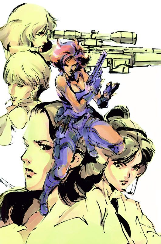 """Lover's Rock"" - Characters & Art - Metal Gear Solid, Metal Gear Solid 1"