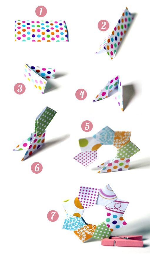 origami for christmas | par il gatto goloso
